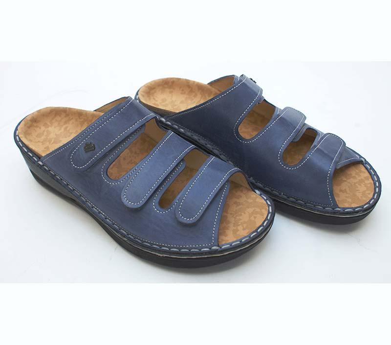 Eingebauten Einlagen in Finn-Pantoffeln