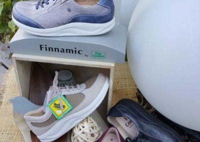 Finn Comfort verschiedene Finnamic-Modelle - extra bequemes Gehen durch gerundete Sohlen