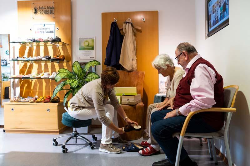 Fuß & Schuh Geschäft
