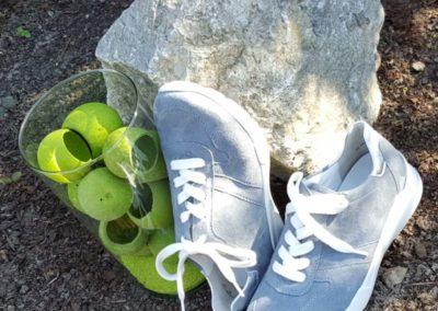 Graue Sneaker von Semler